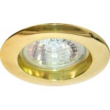 DL307 MR16 50W G5.3 золото 15010