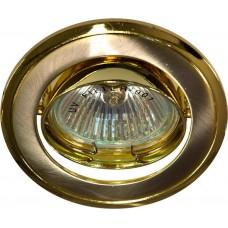301T-MR16 50W G5.3 титан-золото/ Titan-Gold 17534