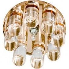 1301 JC 20W G4 прозрачный,коричневый (с лампой) 18449