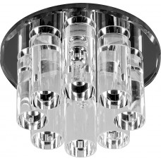 1301 JC 20W G4 прозрачный, черный (с лампой) 18450