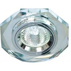 8020-2 MR16 50W G5.3 серебро, серебро/ Silver-Silver 19701