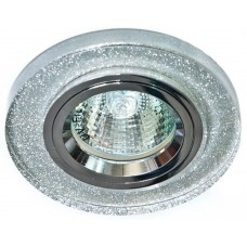 8060-2 MR16 50W G5.3 мерцающее серебро, серебро/ Shinning Silver-Silver 19708