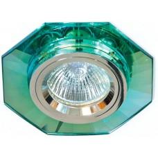 8120-2 MR16 50W G5.3 зеленый, серебро/ Green-Silver 19728