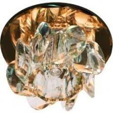 1530  JCD9 35W G9 прозрачный,коричневый (с лампой) 28154