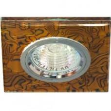 8144-2 MR16 50W G5.3  коричневый -черный,серебро 28300
