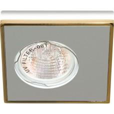 DL2A  MR16 MAX50W 12V G5.3   алюминий,золото 28361