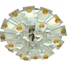 1560 JCD9 Max35W G9 прозрачный-матовый -желтый, прозрачный 28432