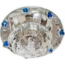1580 JC Max20W G4 прозрачный-голубой, прозрачный 28440