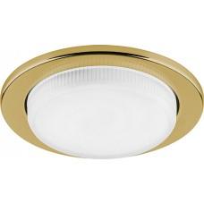 DL53 15W 230V  GX53, без лампы, золото 28453