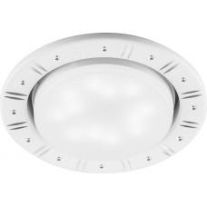 "DL393 15W 230V  GX53, ""круг"",  без лампы, белый 29717"