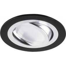 """DL2811 MR16 50W G5.3 """"круг"""", черный 32644"""