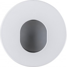 "DL2831 MR16 50W GU5.3 ""круг"", алюминий, белый, черный 32647"
