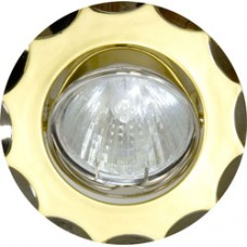 703 MR16 50W G5.3 жемчужное золото-титан/ Pearl Gold-Nickel 15173