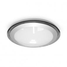 Накладной светодиодный светильник ALR-16 AC170-265V 16W d330мм*H70мм Холодный белый 1400lm (Серый корпус) У0000000562